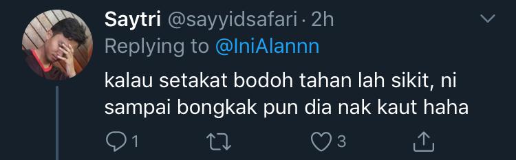 Nabil Ahmad Sindir Azwan Ali Kembali Mengacara? 6