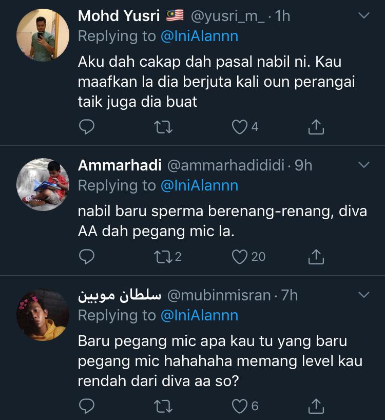 Nabil Ahmad Sindir Azwan Ali Kembali Mengacara? 7