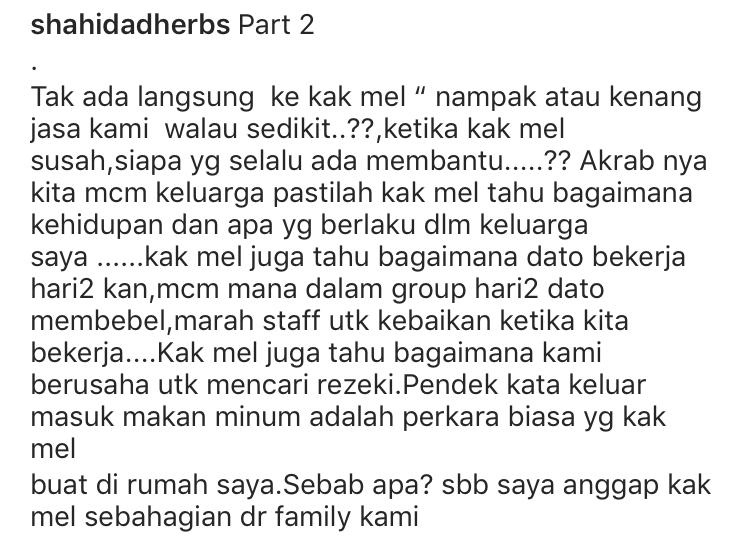 """Bekas Pembantu Peribadi Datuk Aliff Syukri Nafi Panggil Datin Shahida """"Si Bodoh"""" & """"Betina"""" 10"""