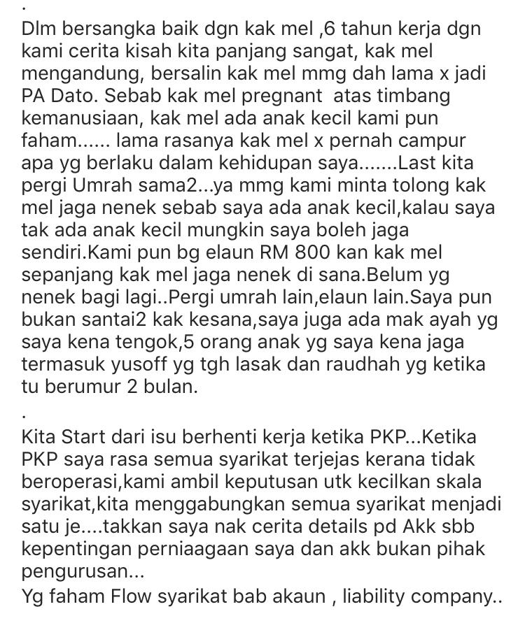 """Bekas Pembantu Peribadi Datuk Aliff Syukri Nafi Panggil Datin Shahida """"Si Bodoh"""" & """"Betina"""" 11"""