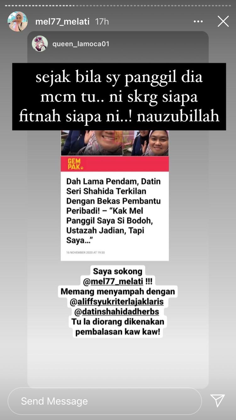 """Bekas Pembantu Peribadi Datuk Aliff Syukri Nafi Panggil Datin Shahida """"Si Bodoh"""" & """"Betina"""" 6"""