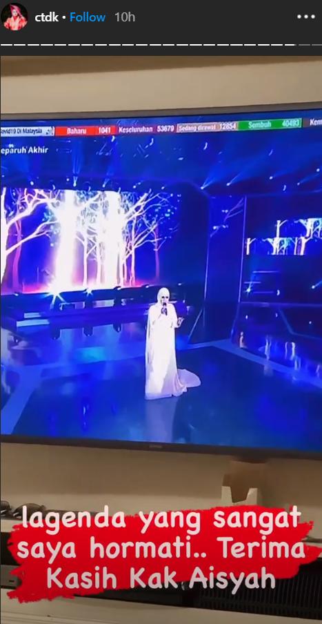 """Akhirnya Terjawab, Penyanyi Aishah Ganti Siti Nurhaliza di SAMM35,-""""Ini Merupakan Satu Penghormatan.."""" 4"""