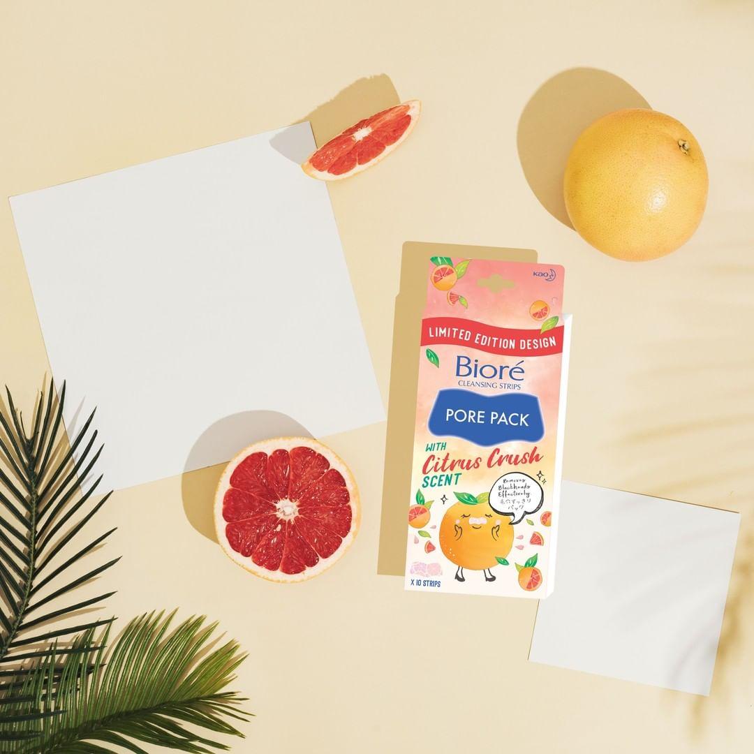 Biore Pore Pack Citrus Crush 10pcs