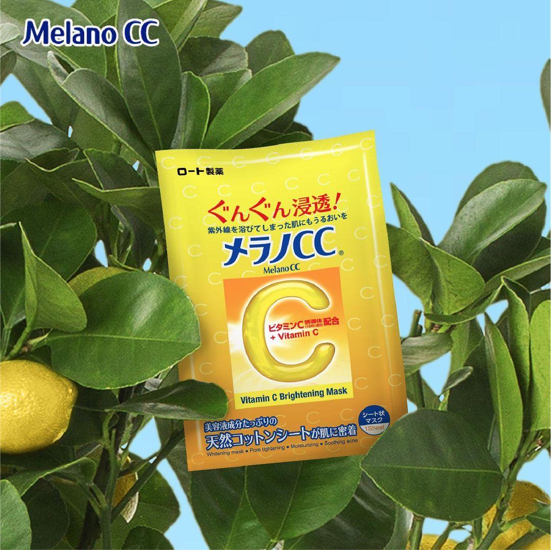 Melano CC Vitamin C Brightening Mask 1pcs