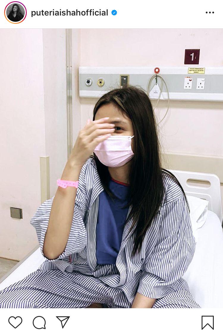 Banyak Kali Masuk Hospital, Puteri Aishah Dedah Dirinya Tabah Diuji Kesakitan 6