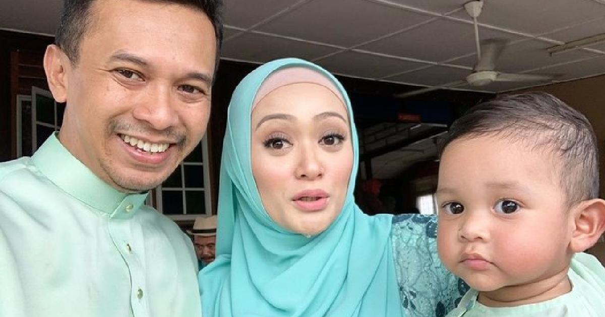 Faye Kusairi dan keluarga