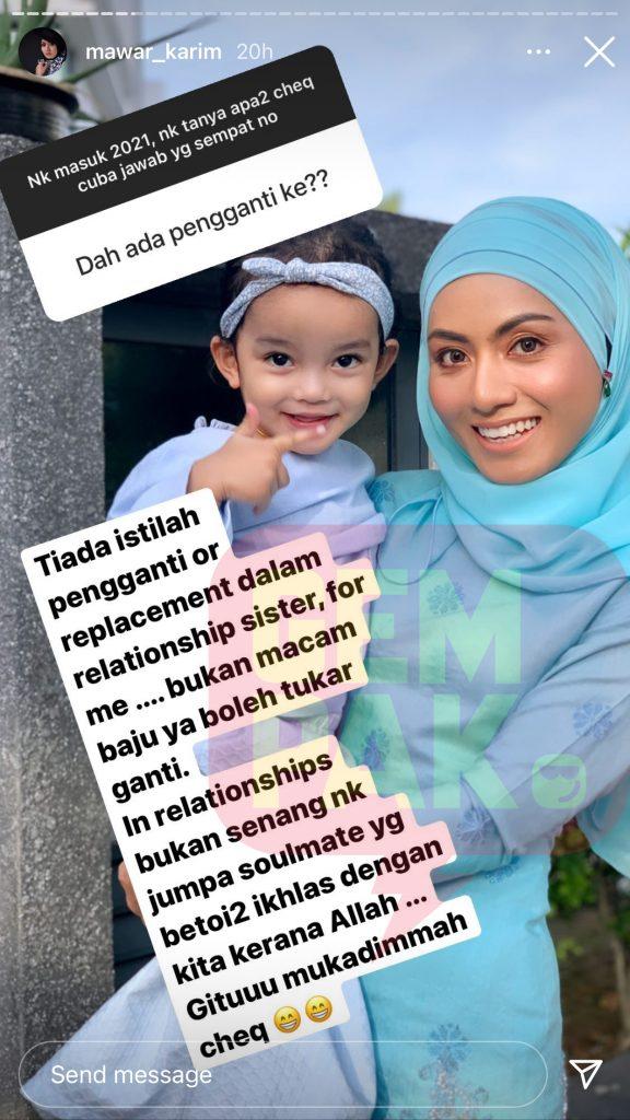 Instagram Mawar Karim