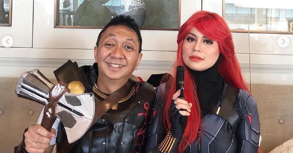 Rebecca Nur Al Islam dan suami
