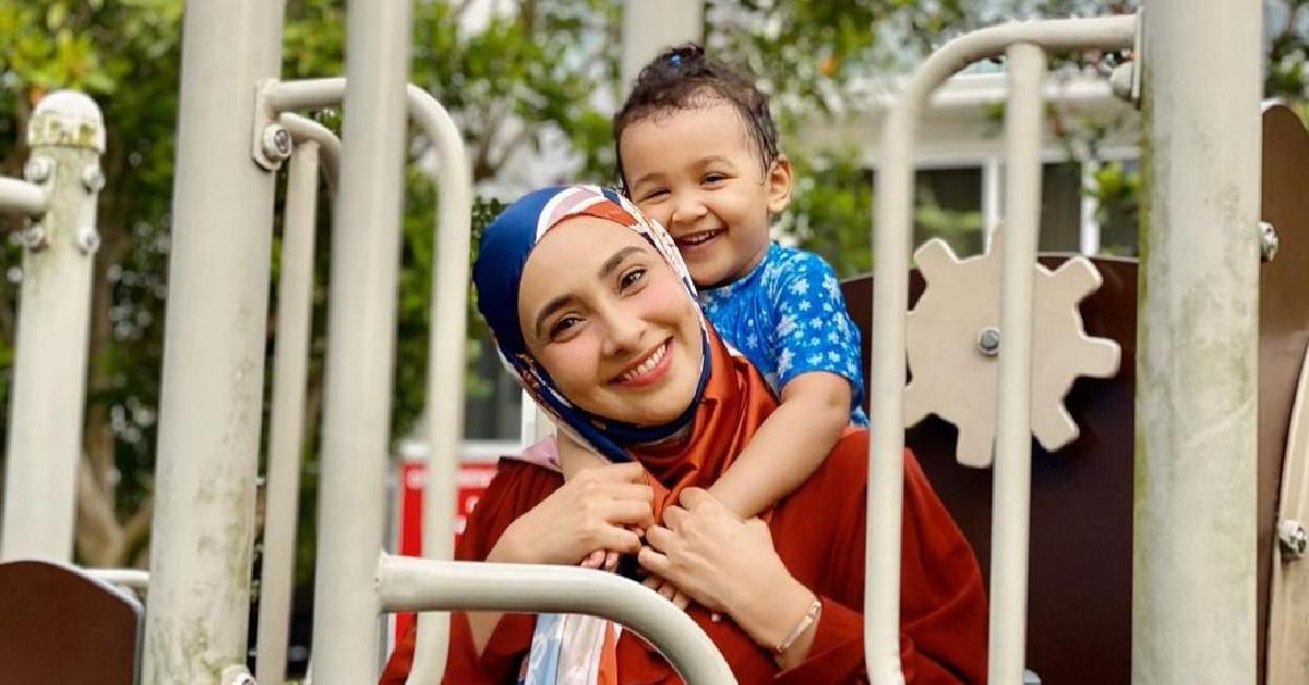 Lufya Omar dan anak