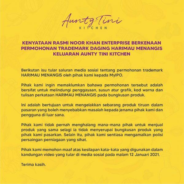 Permohonan Maaf Noor Kartini