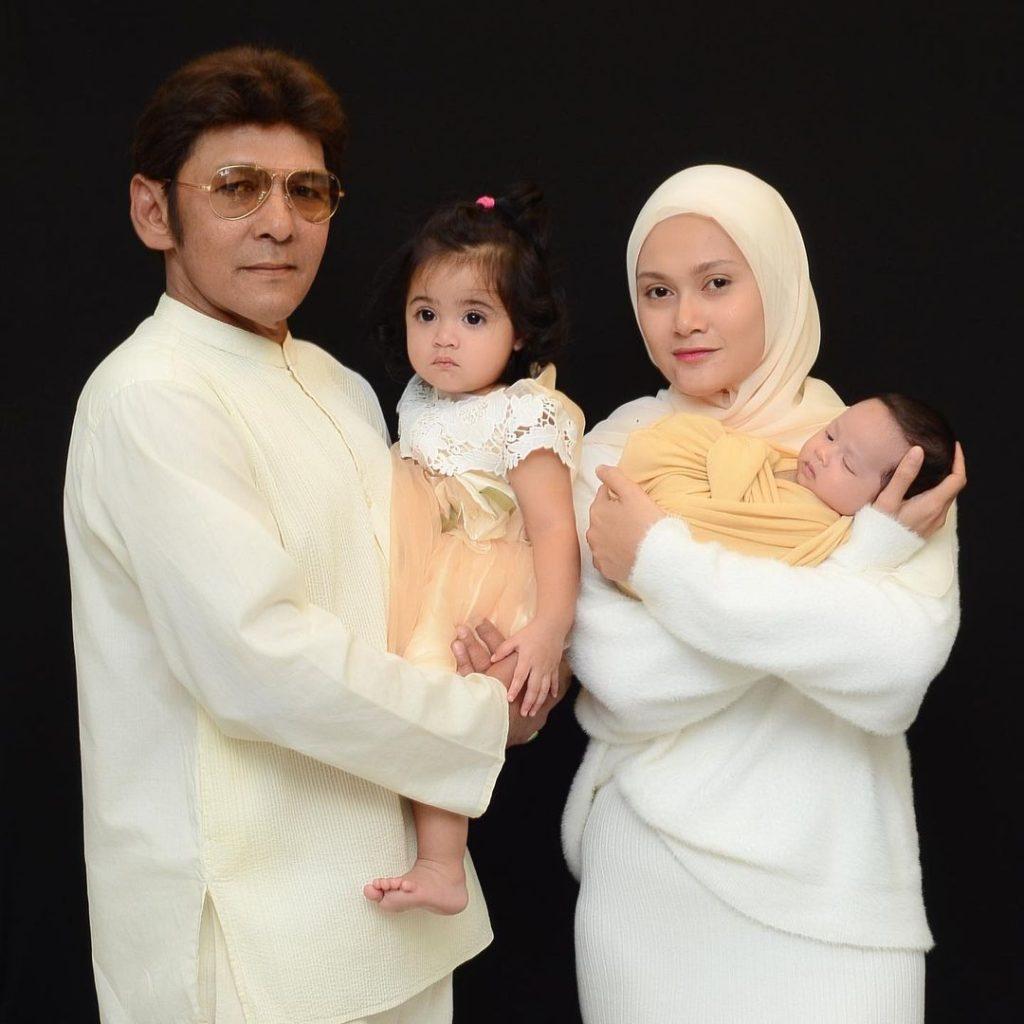 Jamal Abdillah dan keluarga