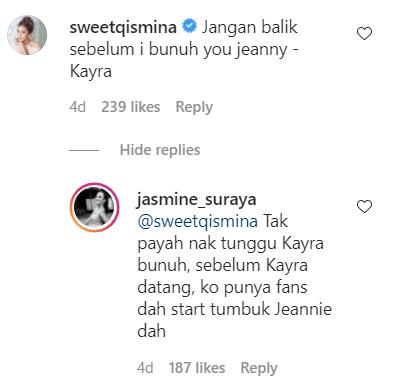 Komen Sweet Qismina