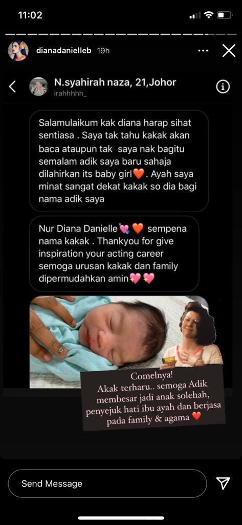 Insta Story Diana Danielle