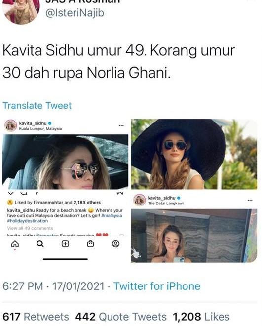 Norlia Ghani VS Kavitha Sindhu