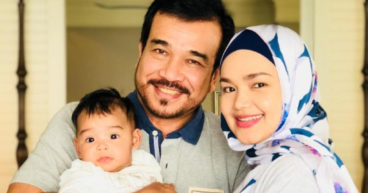 Datuk Siti Nurhaliza dan keluarga