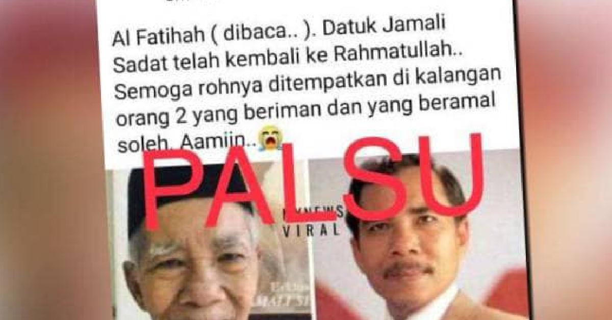 Berita palsu Jamali Shadat
