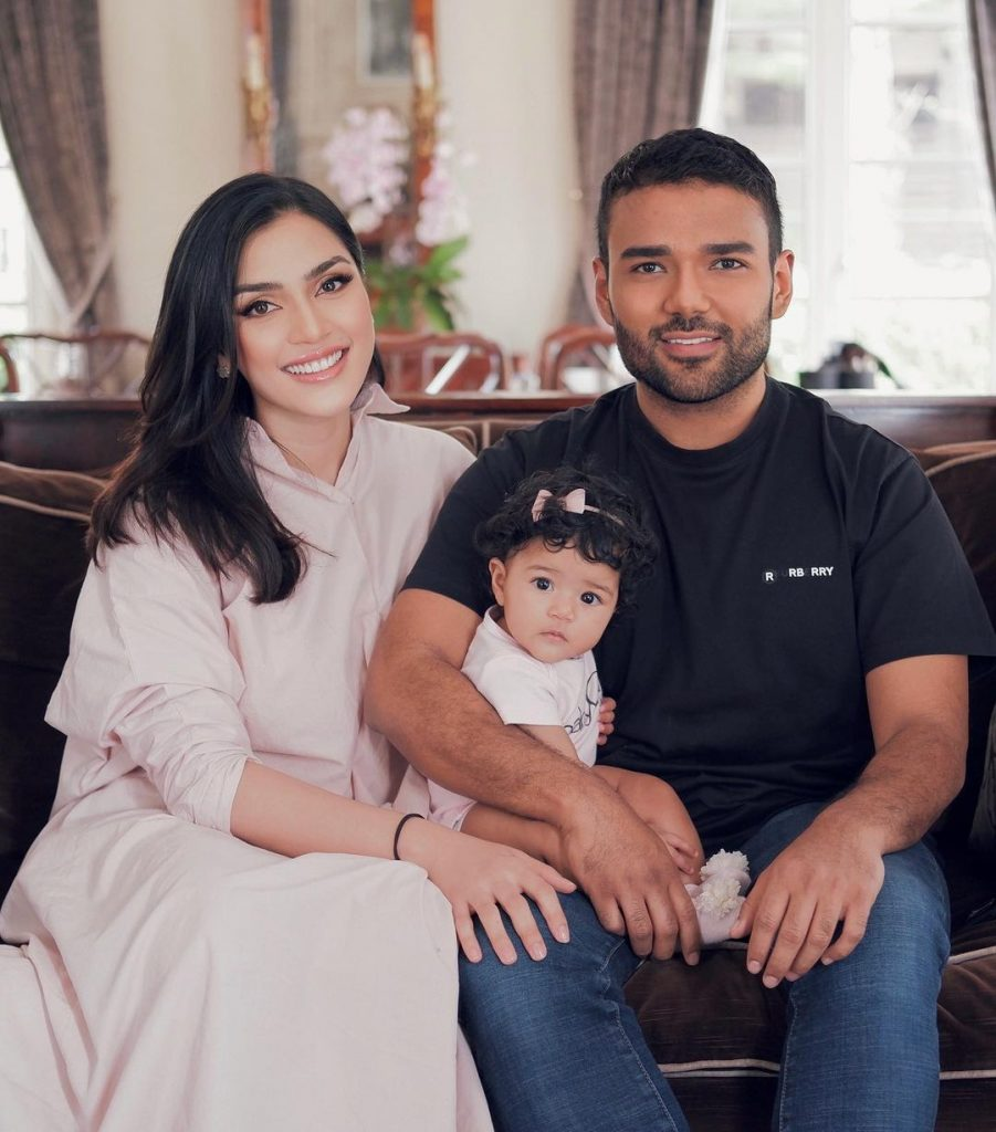 Rizman Nordin dan keluarga