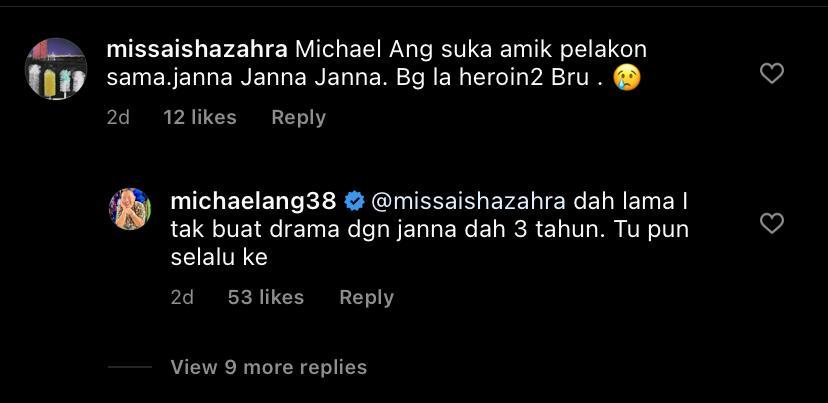 Komen Michael Ang