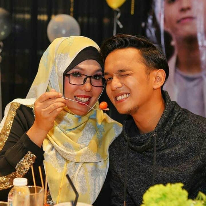 Aiman Tino dan ibu
