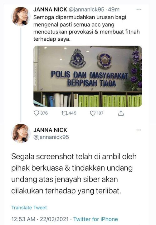 Janna Nick Twitter