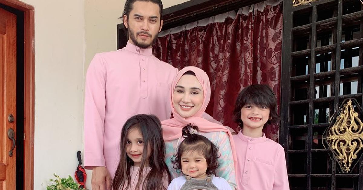 Wawa Zainal dan keluarga