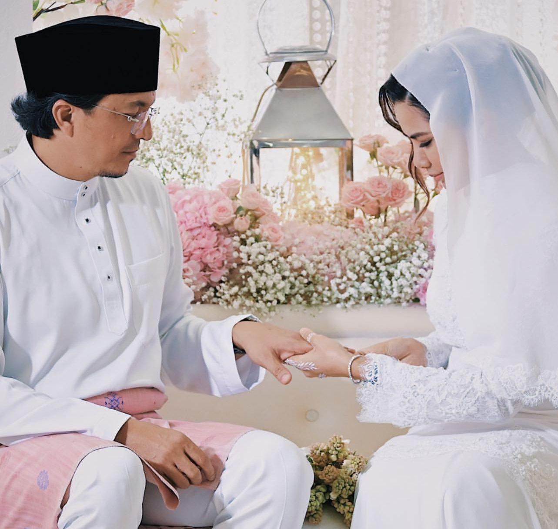 pernikahan noor nabila dan engku emran