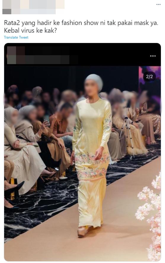 acara fashion show raya