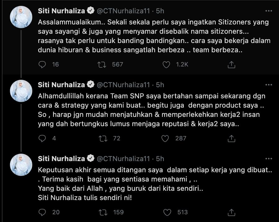 Twitter Siti Nurhaliza