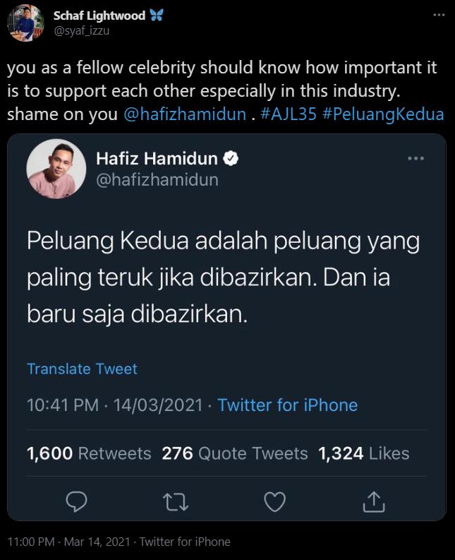 Twitter Hafiz Hamidun
