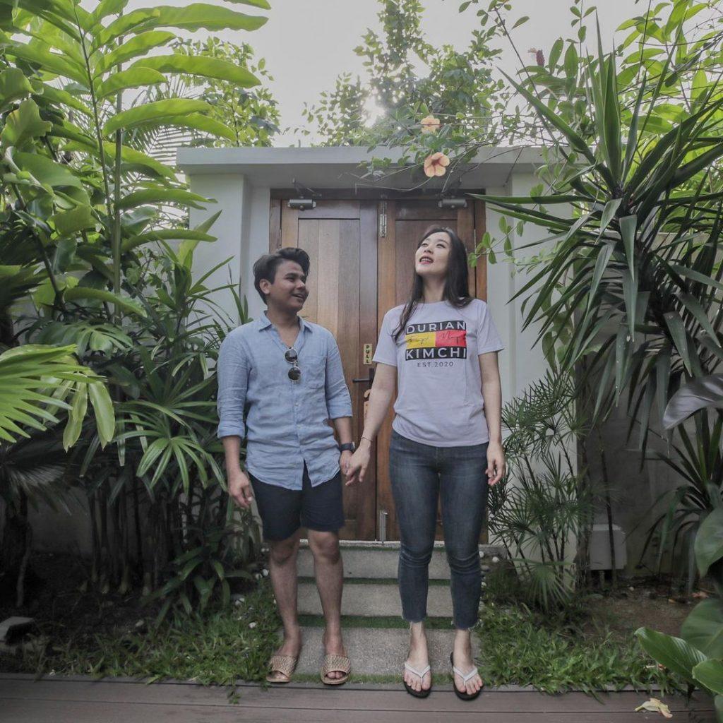 ryzal duriankimchi dan isteri