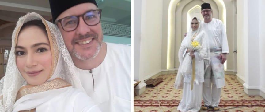 Haliza Misbun dan suami