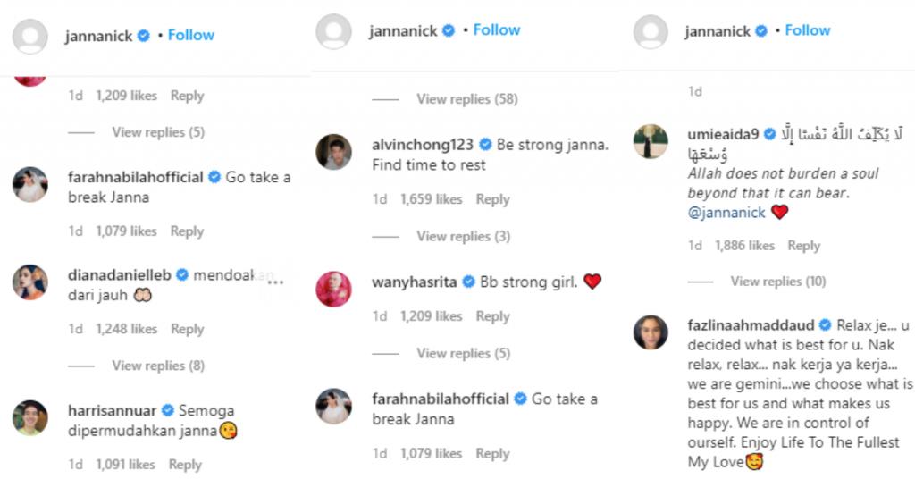 comment janna nick