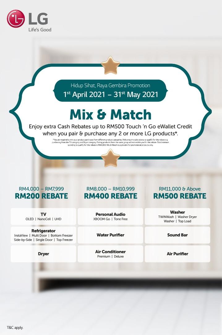 LG Mix and Match