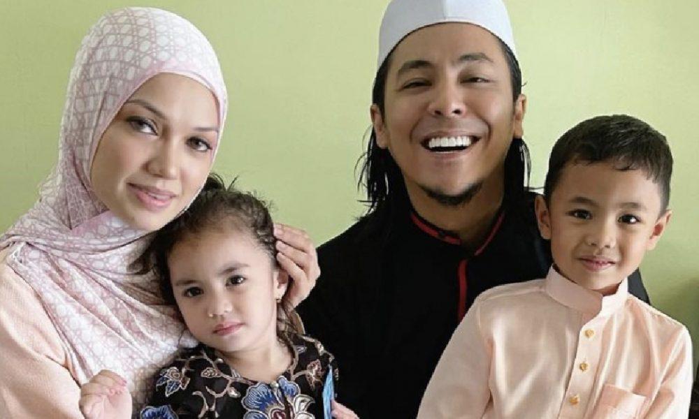 Bergambar Bersama Di Hari Lebaran, Peminat Doakan Puteri Sarah Dan Syamsul Yusof Bahagia Ke Syurga
