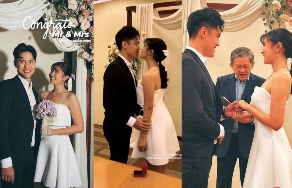 Elizabeth Tan kahwin