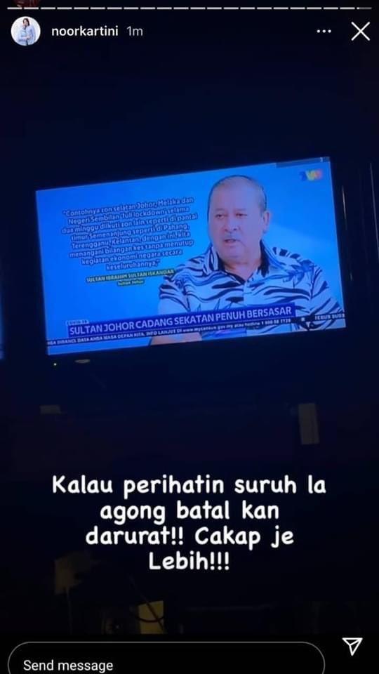 Noor Kartini IG Story