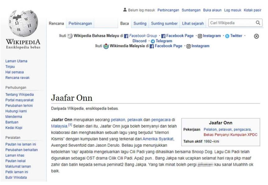 Jaafar Onn