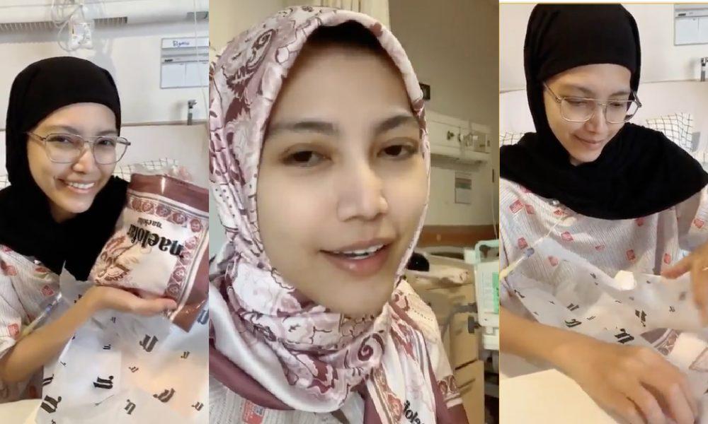 Sebak Tengok Elyana Jalani Rawatan Kanser, Neelofa Hadiahkan Koleksi Tudung Naelofar