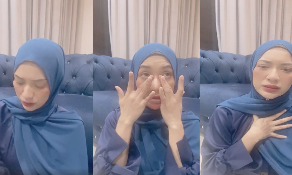 Menangis Hiba, Zara Zya Kesal Dituduh Songlap Duit Bantuan Kebajikan
