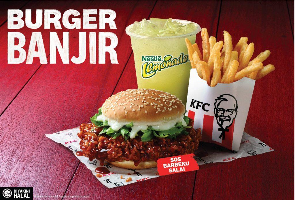KFC Burger Banjir