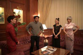 Remy Ishak, Mark Adam, Sharifah Aleysha & Susan Lankaster dalam Keluarga Baha Don Musim 3