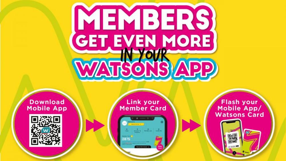 Muat turun aplikasi Watsons