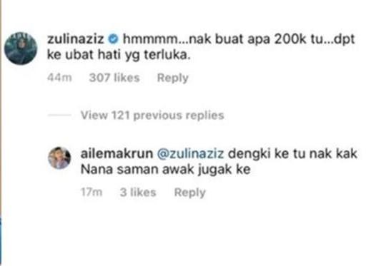 Zulin Aziz komen