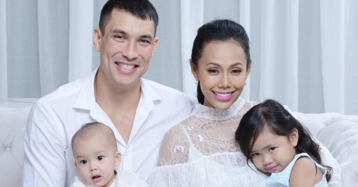 Lana Nodin dan keluarganya