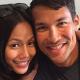 Lana Nodin dan suaminya