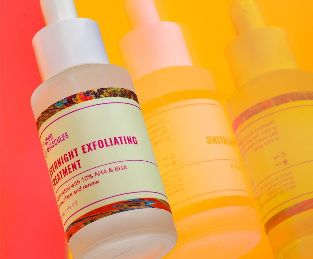 good molecules overnight exfoliating serum