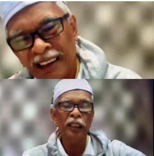 Raisuddin bapa Sarah