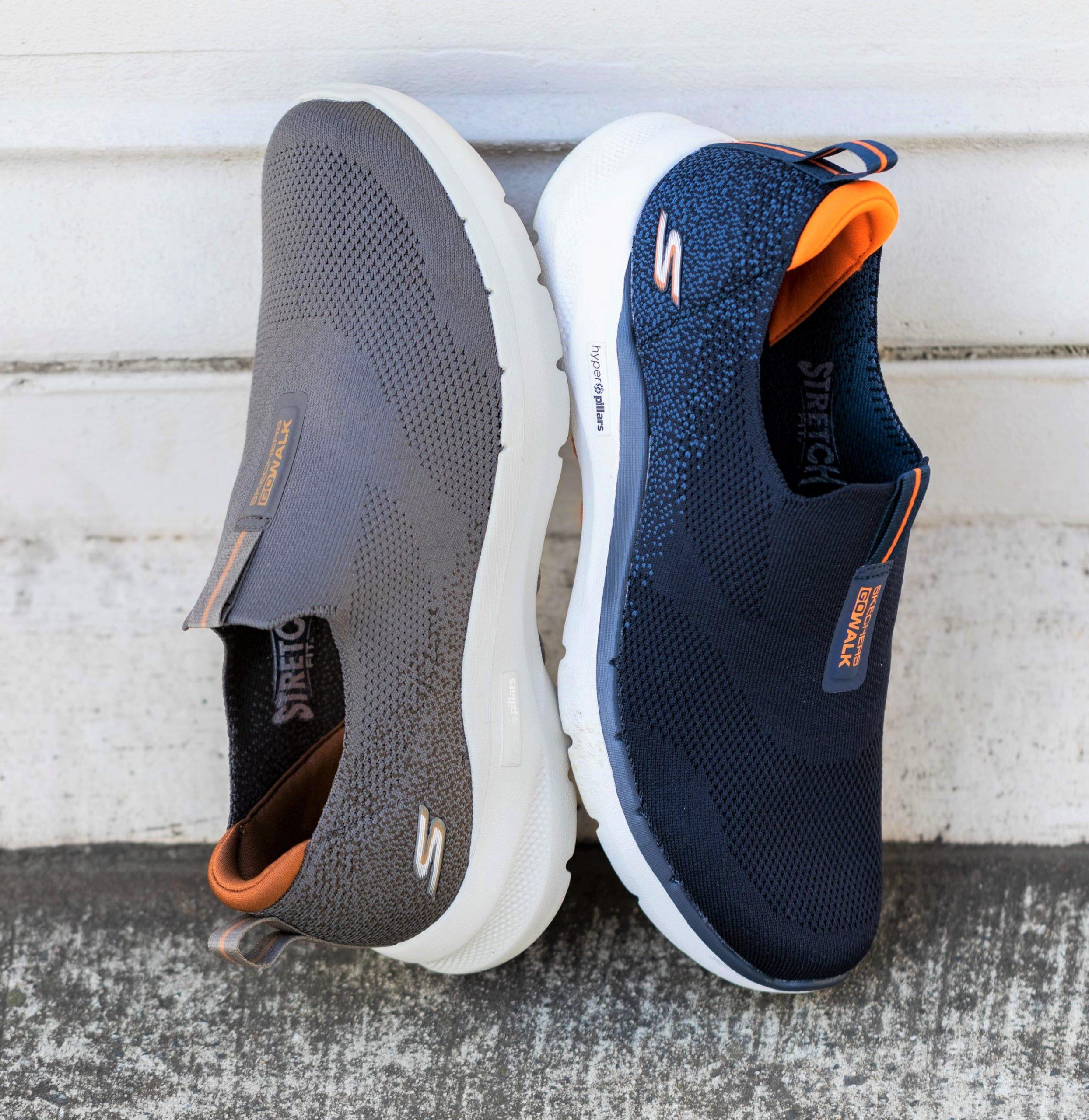 Pengudaraan dalam kasut Skechers GOwalk 6 memberi keselesaan kepada pengguna