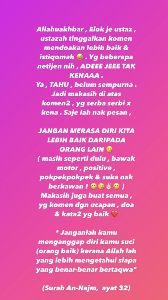Instagram Siti Elizad