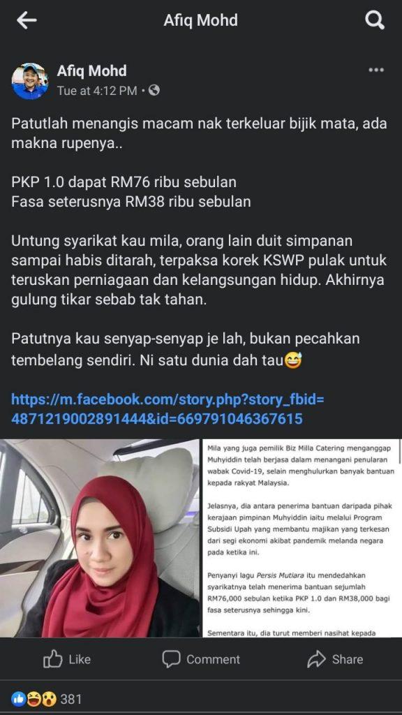 Facebook Afiq